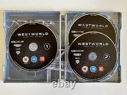 Westworld Season 1 A 3 Steelbook Blu Ray 4k
