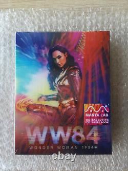 Wonder Woman 1984 Single Lenticular 4k Uhd Blu-ray Steelbook Manta Lab #39/1000
