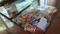 Zootopia Blufans Double Lenticular Steelbook Disney