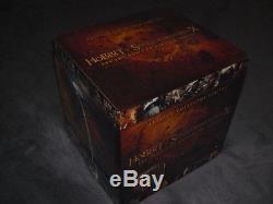 30 blu-ray dvd neuf le hobbit le seigneur des anneaux les trilogies collector