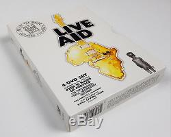 4 DVD Live AID Feed The World 13 July 1985