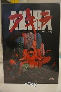 Akira Edition collector limitée A4 (30e Anniversaire) Coffret Blu ray/DVD