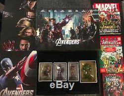 Avengers Collector Edition Fnac Limitée 353/1000 Bluray 3D Figurine Eaglemoss