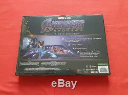 Avengers Endgame 1-3 Coffret de pré-réservation Steelbook Edition Spéciale Fnac