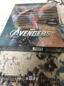 Avengers Steelbook Blu Ray Edition Novamedia Fullslip (CA cover) Sealed
