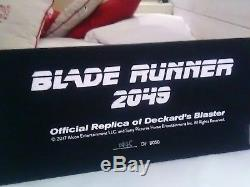 Blade Runner 1982 + Blade runner 2049 Coffret Blu-ray 4K Ultra HD + blaster GUN