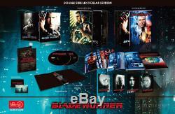 Blade Runner (1982) Blu-ray 4K UHD & 2D Steelbook Double Lenticular HDZETA