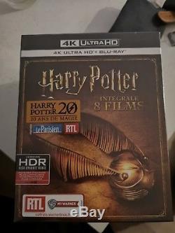 Blu Ray 4k Integral Harry Potter HDR et version francaise