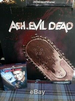 Blu-ray Ash vs Evil Dead L'intégrale des saisons 1 à 3 édition collector