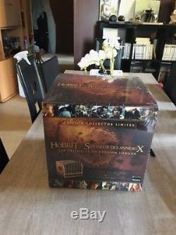 double coupon design exquis haut fonctionnaire Blu-ray Coffret Collector Middle Earth Trilogies Hobbit ...