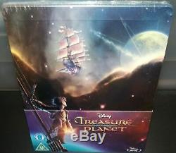 Blu-ray La Planète au trésor (Treasure Planet) Steelbook VF RARE NEUF