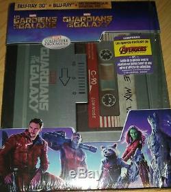 Blu-ray Les Gardiens de la Galaxie vol. 1 steelbook RARE TRÈS BON ÉTAT