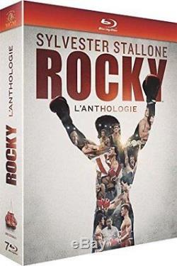 Blu-ray Sylvester Stallone Rocky L'anthologie A. J. Benza, Andre Ward, Ryan
