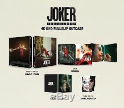 Blu ray steelbook JOKER UMANIA 4K UHD FULL SLIP EDITION new sealed