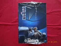Captain America Civil War Coffret Steelbook Edition spéciale Fnac Blu-ray