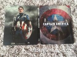 Captain America First Avenger Steelbook Blu Ray 3D/2D Edition Fnac Very Rare