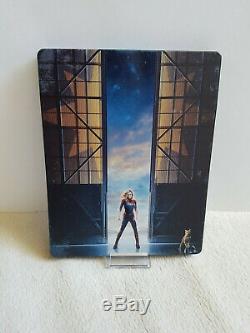 Captain Marvel Fanatic Selection NO°1 Blufans Steelbook Bluray 4K