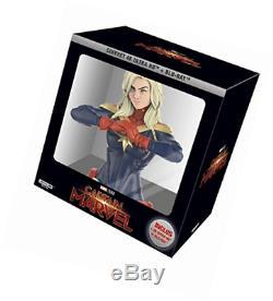 Captain Marvel coffret 4K + buste