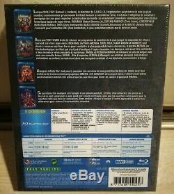 Coffret Blu-Ray Avengers Le Rassemblement Collection intégrale 1 à 4 Films neuf