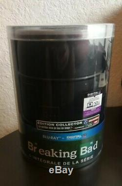 Coffret Blu-Ray Collector Intégrale Breaking Bad Édition Baril
