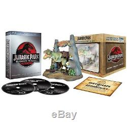 Coffret Bluray Disc Jurassic Park La Trilogie Edition Ultime Collector