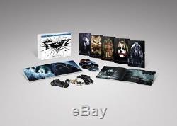 Coffret Bluray The Dark Knight La Trilogie Collector + les 3 véhicules Neuf