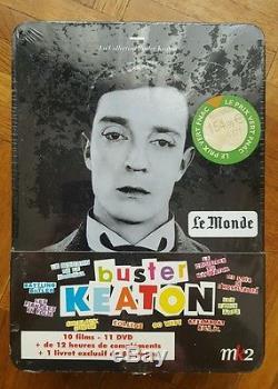 Coffret Buster Keaton DVD + livret NEUF SOUS BLISTER