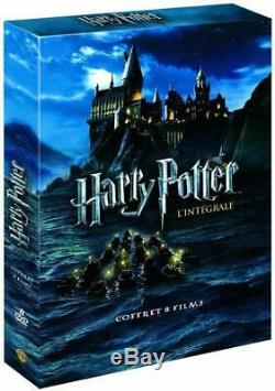 Coffret Integral 8 Films DVD Harry Potter Edition Complete Rowling