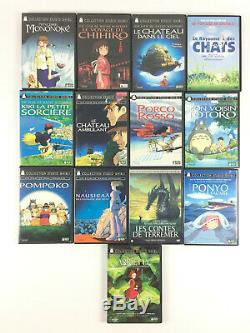 Coffret Lot 13 DVD Hayao Miyazaki / Collection Studio Ghibli