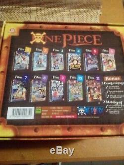 Coffret collector One Piece des 10 films en dvd culte et rare