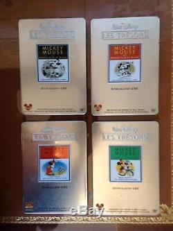 Collection DVD les Trésors de Walt Disney boite métal