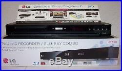 Combine Enregistreur Disque Dur-double Tuner Hd-lecteur Bluray+dvd-lg Hr 500