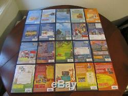 DVD DISNEY Lot de 60 DVD numérotés losange jaune dont 1 sous blister