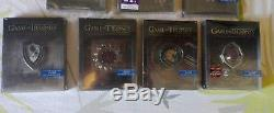 GAME OF THRONES steelbook collection complete Fr 7 coffret neuf sous blister