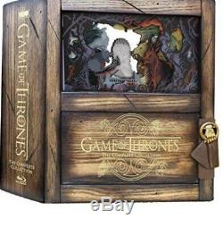 Game Of Thrones Edition Collector Limitée intégrale Saisons 1 à 8 NEUF Blu-ray