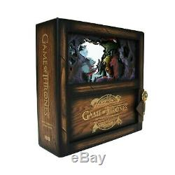 Game Of Thrones intégrale Saisons 1 à 8 Collector Coffret Bois Blu-ray IMPORT