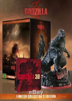 Godzilla Limited Collector's Edition Box Set Blu-Ray 3D