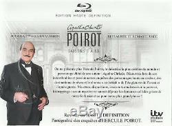 Hercule Poirot Integrale Saisons 1 A 13 Coffret Blu-ray Neuf Sous Cello