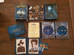 Intégrale bluray dvd Harry Potter Ultimate Edition 8 coffrets Coffrets RARE