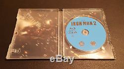 Iron Man 1 2 3 Trilogie Trilogy Blu-ray Steelbook Disney Marvel