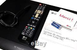 LG BDT-590 Lecteur Enregistreur Bluray DVD WIFI DLNA Stream USB Rec MKV DVB-T HD