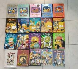 Les Simpson saison 1 a 15 plus 20 énorme lot