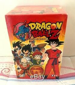 Lot 3 Coffrets DVD Dragon Ball Z Série 143 épisodes Neuf sous Blister +2 DVD Kdo
