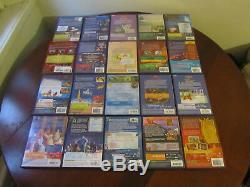 Lot de 40 DVD DISNEY dont 29 numérotés et 2 sous blister