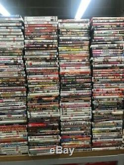 Lot gros DVD film