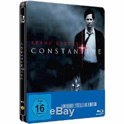 New Constantine Keanu Reeves Blu-ray Steelbook German Limited Edition Very Rare