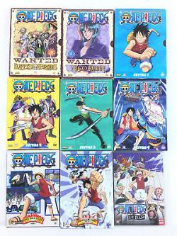 One Piece Coffret Lot DVD Vol 1 à 17 / Skypiea 1 2 3 4 + Davy Back Fight 1 3