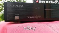 Oppo Bdp-83 Special Edition Multizone Blu-ray Sacd DVD CD 83se Perfect
