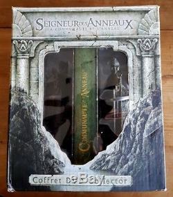 Rare Le Seigneur Des Anneaux La Communauté De L'anneau 4 DVD Figurine Argonaths