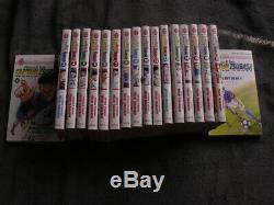 Rare les 18 mangas de la série captain tsubasa youth world olive et tom
